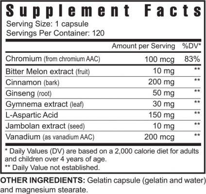 sweet eze supplement facts