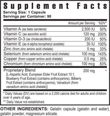 Selenium Supp. facts