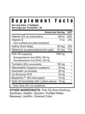 Procardio FX supplement facts