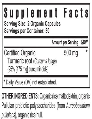 purmeric supplement facts